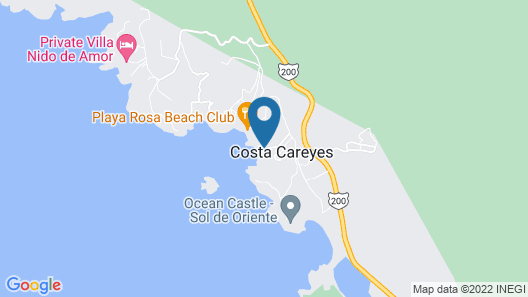 El Careyes Club & Residences Map