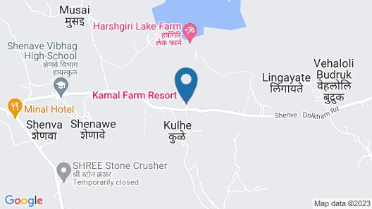 Kamal Farm Resort Map