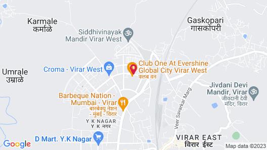 Club One - Virar Map
