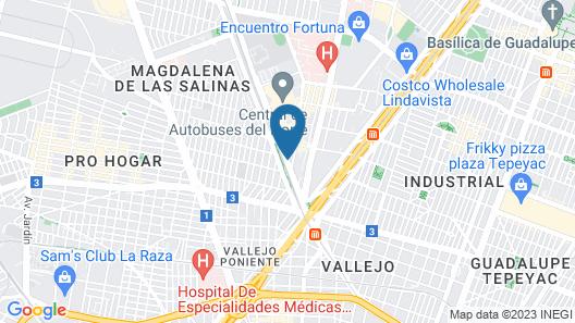 Hotel Brasilia Map