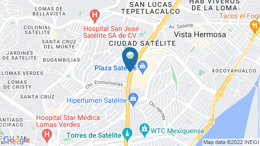 City Express Plus Satelite Map