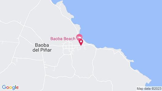 Baoba Beach Club Map
