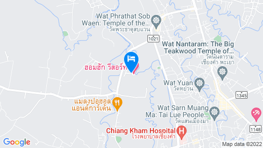 Homhug Resort Map