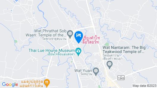 Chiang Kham Tilue Resort Map