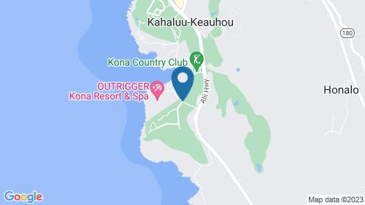 Club Wyndham Mauna Loa Village Map