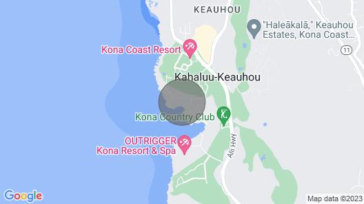 Aloha Condos, Kanaloa at Kona, Condo 3702, Oceanfront, AC Map