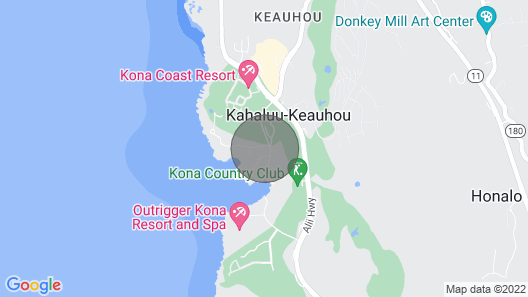 Luxury 3 BR/3 BA by Keauhou Bay Map