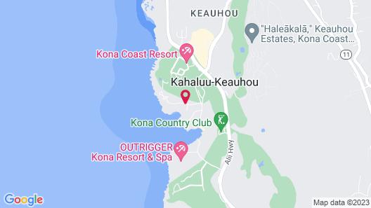 Kanaloa at Kona by Outrigger Map
