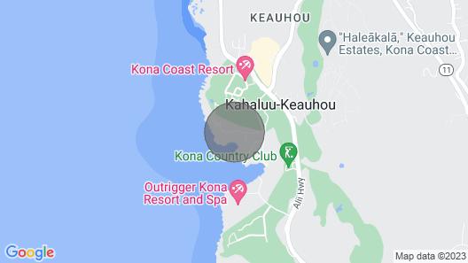 Aloha Condos, Kanaloa at Kona, Condo 3104, Oceanfront, AC Map