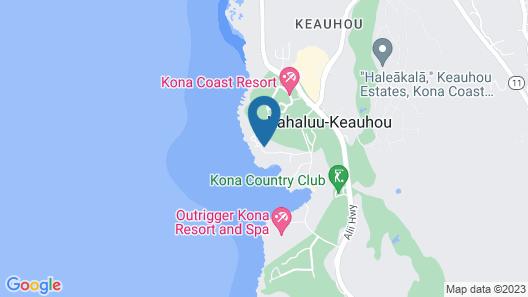 Kanaloa at Kona by Castle Map