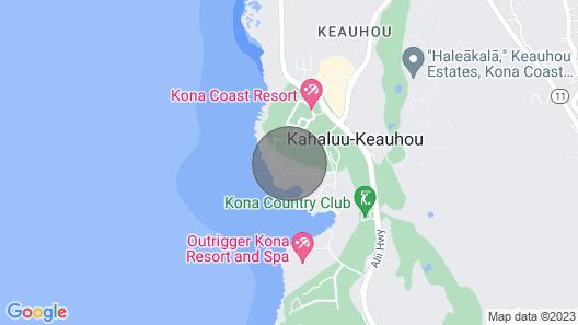 Aloha Condos, Kanaloa at Kona, Condo 704, Fairway View, AC Map