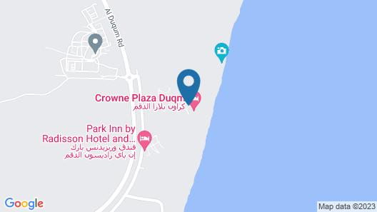 Crowne Plaza Duqm, an IHG Hotel Map