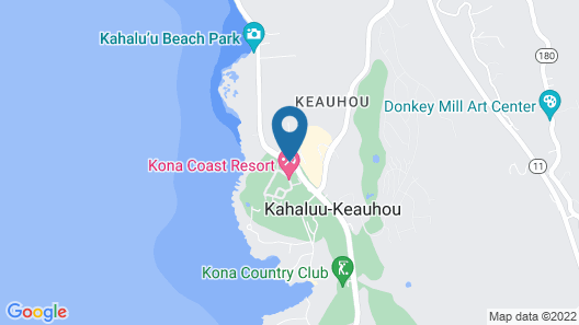 Kona Coast Resort Map