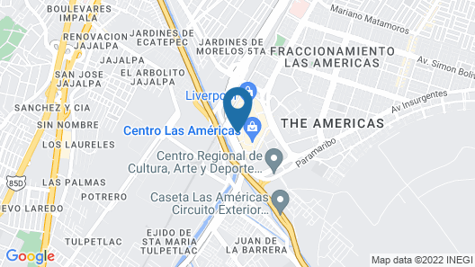 Fiesta Inn Ecatepec Map