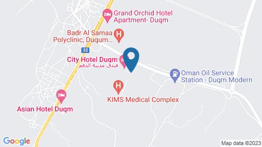 City Hotel Duqm Map