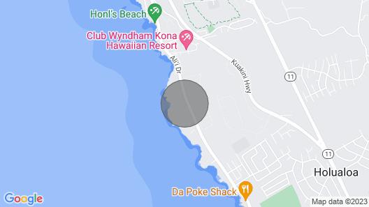 Royal Sea Cliff #1 Kona  FREE WiFi, Garage Parking, Full Kit 2 Ocean View Pools  Map