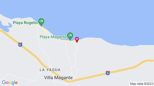 Playa Paraiso en Magante Map
