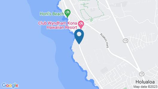 Kona Shores #203 Map