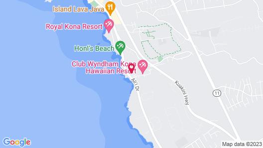WorldMark Kona Map
