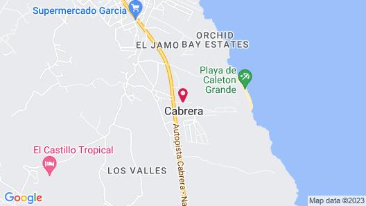 Villas HL Cabrera Map