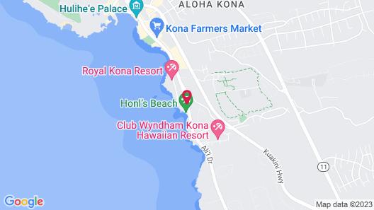 Kona Reef Resort Map