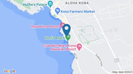 Castle Kona Reef, a Condominium Resort Map