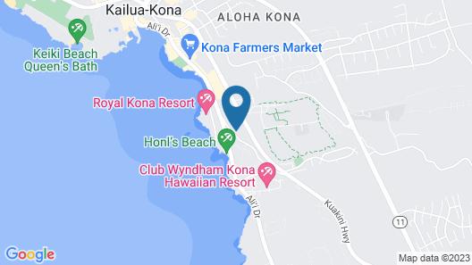 Kona Mansions#229 Map