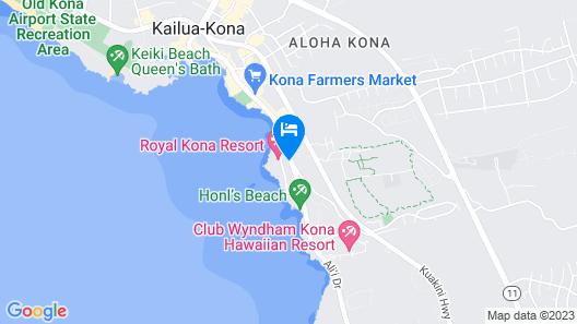 Royal Kona Resort Map