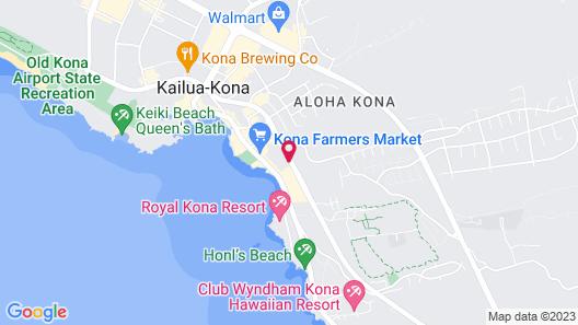 Kona Islander Vacation Club Map