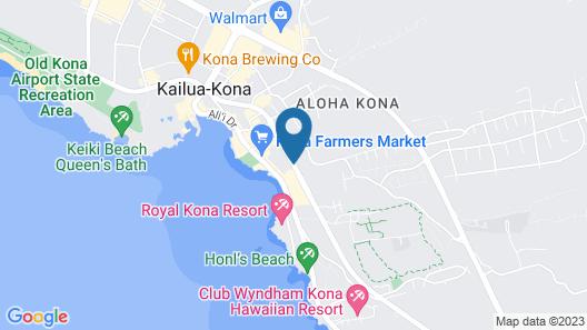 Vacation Condos In Kona Map