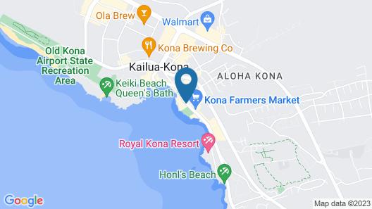 Uncle Billy's Kona Bay Hotel Map