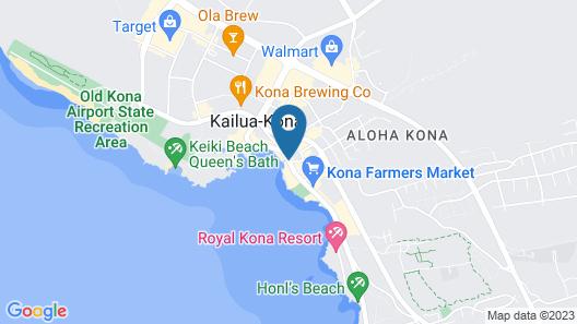 Kona Plaza 314 2 Bedroom Condo Map