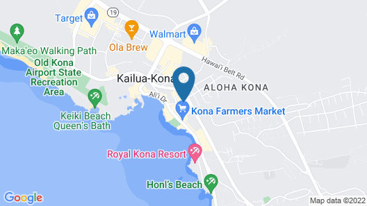 Holiday Inn Express Hotel & Suites Kailua-Kona, an IHG Hotel Map