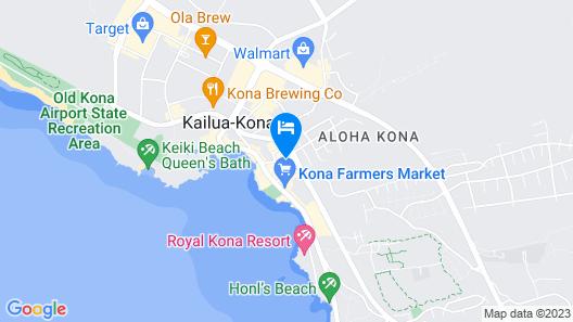 Holiday Inn Express Hotel & Suites Kailua-Kona, an IHG Hotel Map