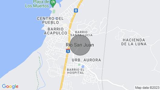 Beautiful Penthouse in Las Terrenas, Samana Map