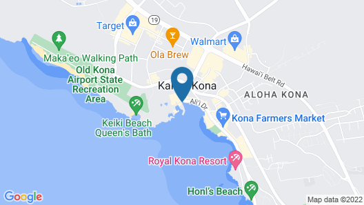 Kona Isle C28 Map