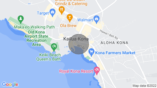 Steps to the Ocean | Great Location | Central AC Map