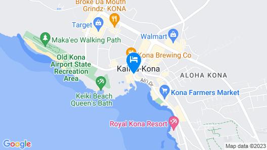 Courtyard by Marriott King Kamehameha's Kona Beach Hotel Map