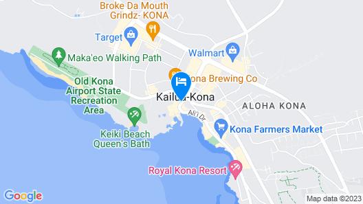 Kona Seaside Hotel Map