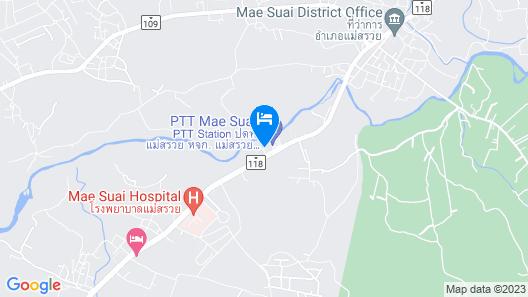 Baan Saui Resort Map