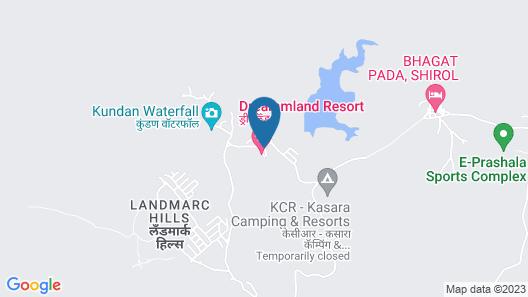 Dreammland Resort Map
