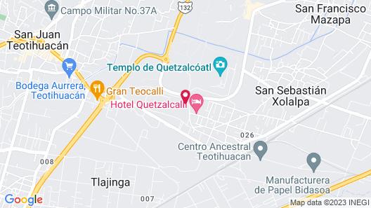 Villas Teotihuacan Hotel & Spa Map