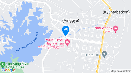 Hilton Nay Pyi Taw Map
