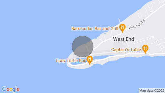 Tropical Beach Paradise W/pool - Beach Cabana, Services Available Map