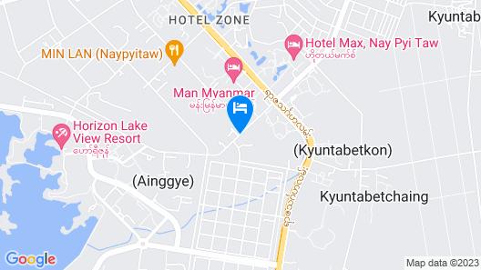 Vegas Hotel - Nay Pyi Taw Map