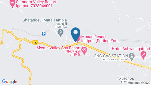 Manas Lifestyle Resort Igatpuri Map