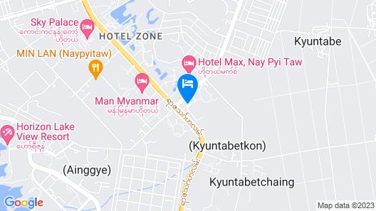 The Hotel Amara Map