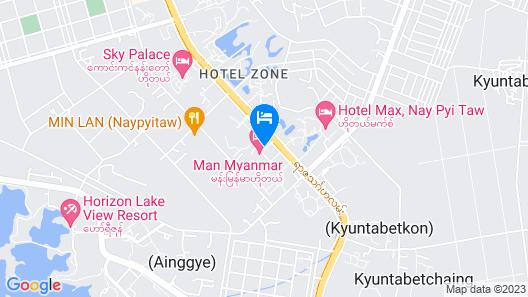 Man Myanmar Hotel Map