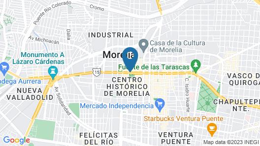 City Express Morelia Map
