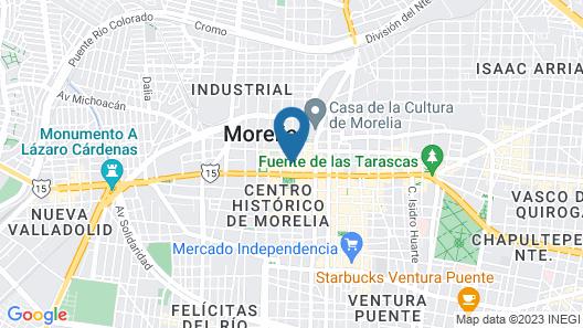 Hotel de la Soledad Map